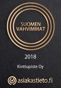 Suomen Vahvimmat logo Kinttupisteelle