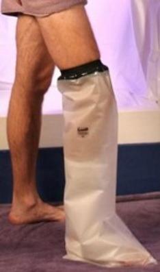 Limbo -suihkusuoja jalalle