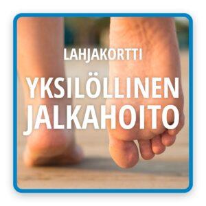Kinttupiste Turku yksilöllinen jalkahoito-lahjakortti