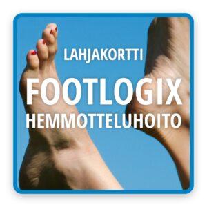 Lahjakortti-tuotekuvat Footlogix-hemmotteluhoito